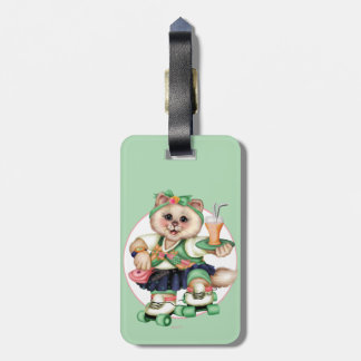 ROLLER CAT CUTE Luggage Tag 2