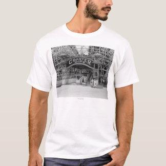 Roller Coaster at Glen Echo Park Photograph T-Shirt