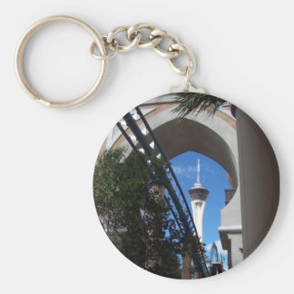 Roller Coaster at the Sahara Keychain