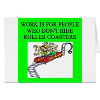 roller coaster fanatic card