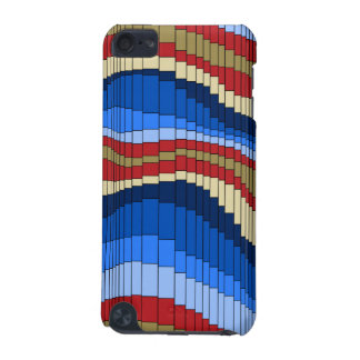 Roller Coaster Striped iPod Touch Cases