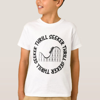 ROLLER COASTER THRILL SEEKER T-Shirt