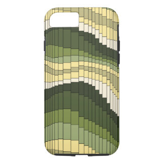 Roller Coaster Vintage Psychedelic Striped iPhone 7 Case