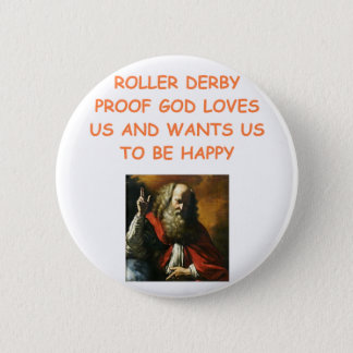 roller derby 2 inch round button