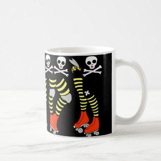 Roller Derby coffee mug cup