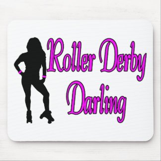 Roller Derby Darling Mouse Pad