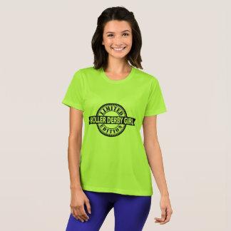 Roller Derby Girl Limited Edition, Skating Design T-Shirt