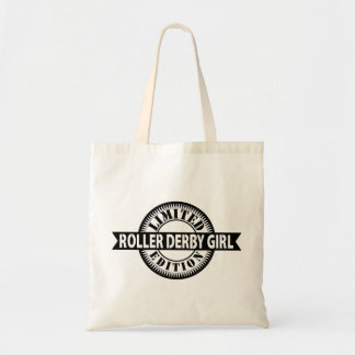 Roller Derby Girl Limited Edition, Skating Design Tote Bag