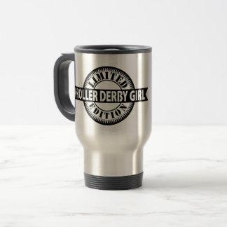 Roller Derby Girl Limited Edition, Skating Design Travel Mug