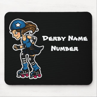 Roller Derby Jammer Customisable Mouse Pads