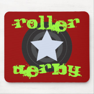 Roller Derby Jammer Mouse Pad