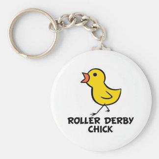 Roller Derby Keychain