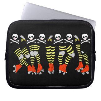 Roller Derby Laptop Sleeve Neoprene zippered case