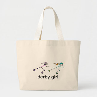 Roller Derby Large Tote Bag
