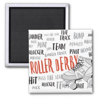Roller Derby Magnet