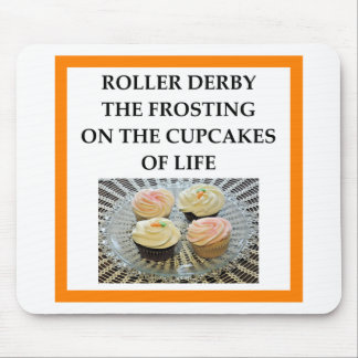 roller derby mouse pad