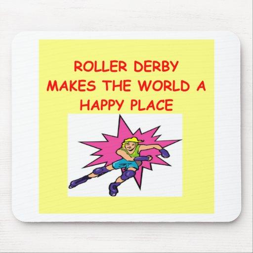roller derby mousepads