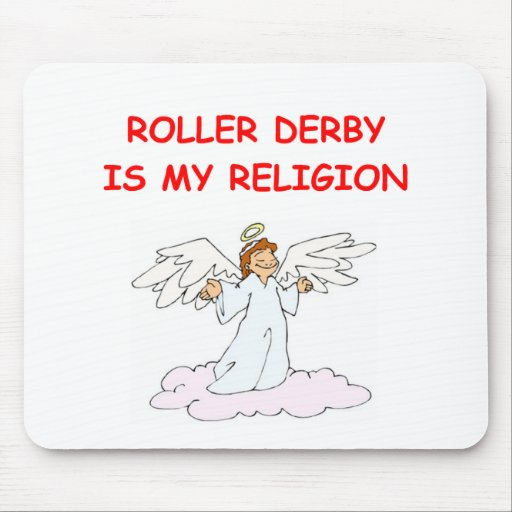 roller derby mousepads