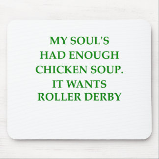 roller derby mouse pads
