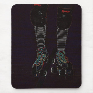 ROLLER DERBY NEON MOUSEMATS