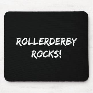 Roller Derby Rocks Mouse Pad
