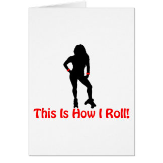 Roller Derby Roll Card