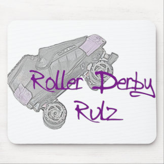 Roller Derby Rulz Mousepad