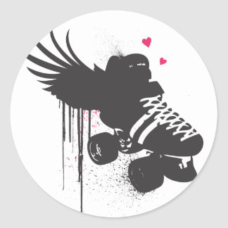 Roller Derby Sticker