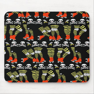 Roller Derby stripe mousepad