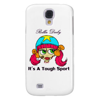 Roller derby tough sport Iphone Case