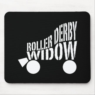 Roller Derby Widow Mouse Pad