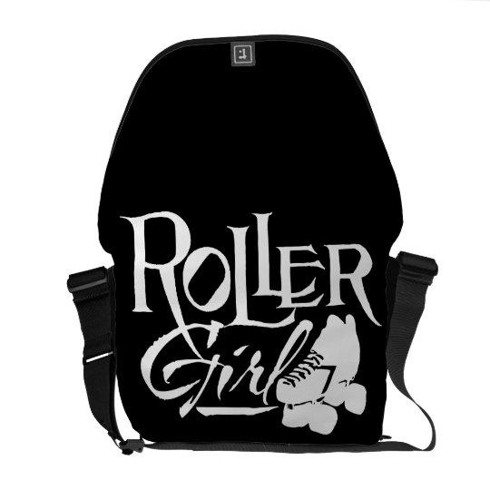 Roller Girl, Roller Derby Commuter Bags