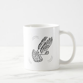 Roller Pigeon in Action Coffee Mug