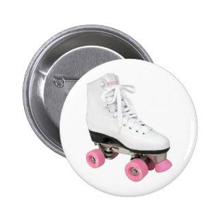 Roller Skate 2 Inch Round Button