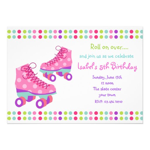 Skating Party Invitations Free Printables for perfect invitation template