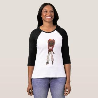 Roller Skate girl. T-Shirt