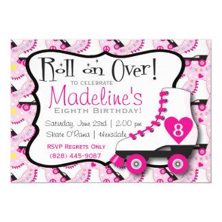 Roller Skate Invitation#2 Card