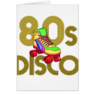 Roller Skater 80s Card