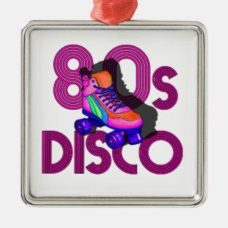 Roller Skater 80s Metal Ornament