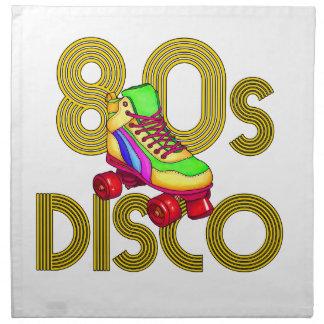 Roller Skater 80s Napkin