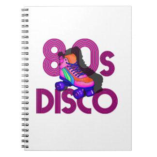 Roller Skater 80s Notebooks