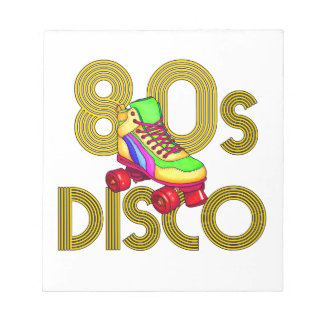 Roller Skater 80s Notepad