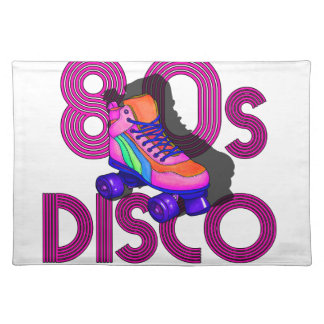 Roller Skater 80s Placemat