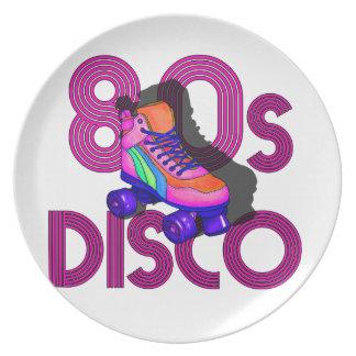 Roller Skater 80s Plate