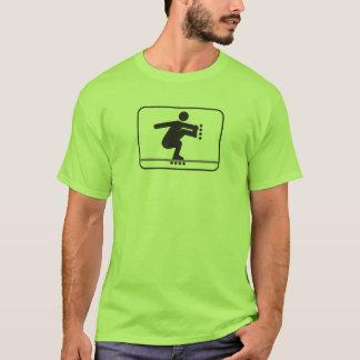 ROLLERBLADING FISHBRAIN T-Shirt