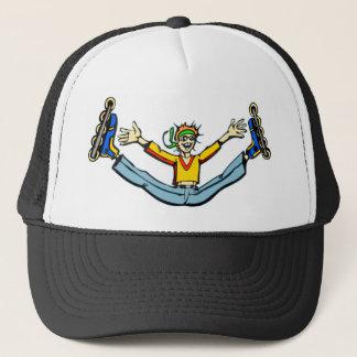 Rollerblading Trucker Hat