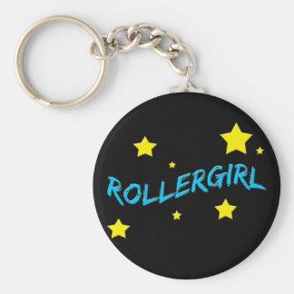 Rollergirl Keychain