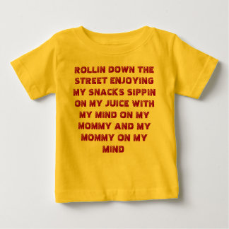Rollin down the street creeper. baby T-Shirt