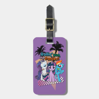 Rollin' with the Ponies Bag Tag