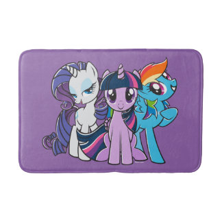 Rollin' with the Ponies Bath Mat
